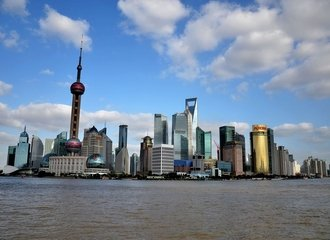 Shanghai Bund Traveling Along the China Silk Road