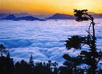 Sichuan Mount Emei Sunrise