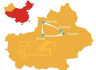 Silk Road Discovery Tour Route