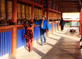 Labrang Monastery on a Tibetan Silk Road Tour