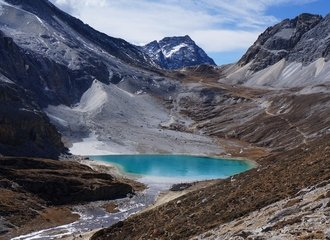 Yading Milk lake