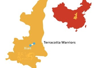 Xi'an to Terracotta Warriors Tour Route