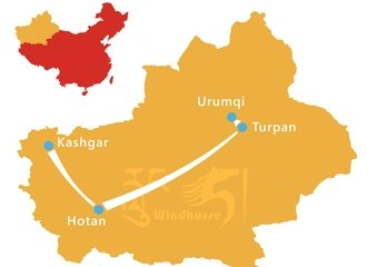 Xinjiang Silk Road Tour Route