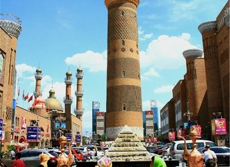Visit The Xinjiang Grand Bazaar on the Silk Road