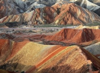 Zhangye Danxia Landform on a Zhangye Tour