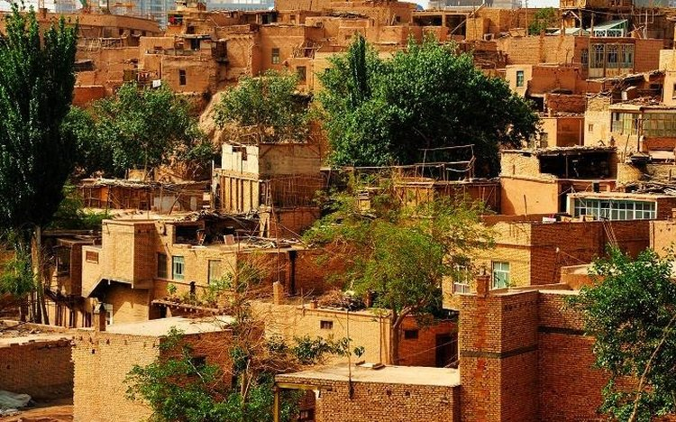 old town in Kashgar