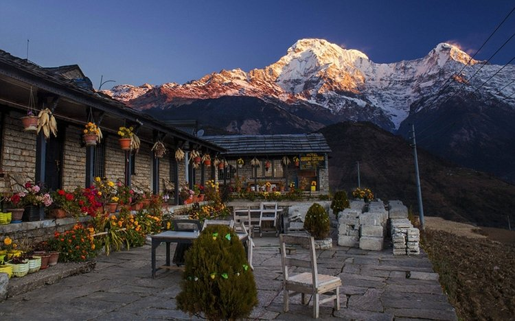 Guesthouse at Annapurna trek