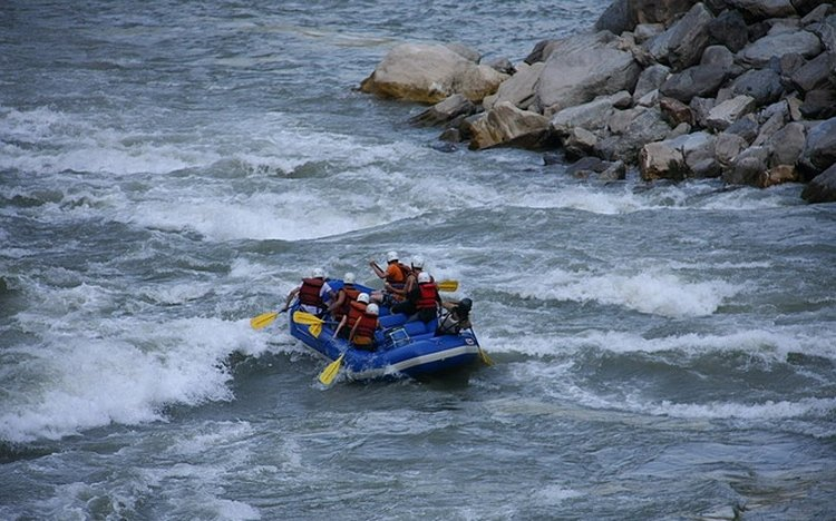 Rafting on River Kali Gandaki