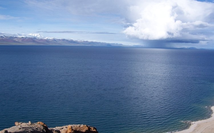 Panorama of Namtso Lake