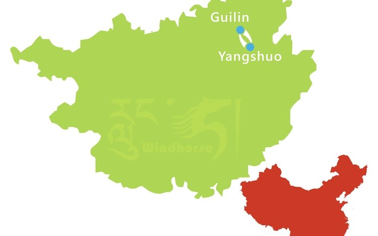 Classic Guilin Tour Route