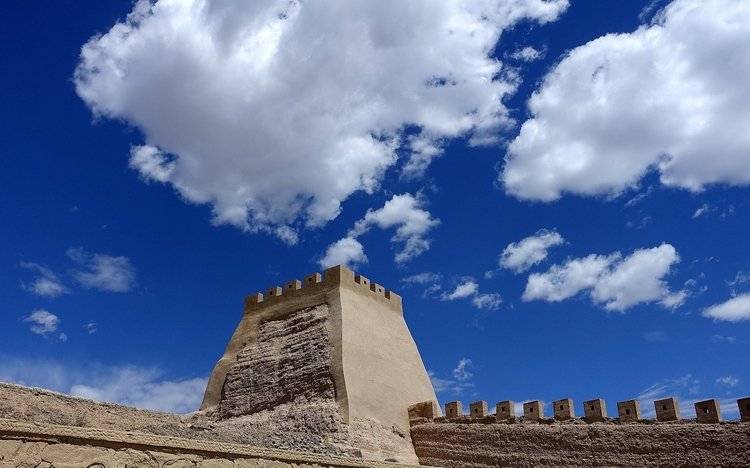 The China Silk Road's Jiayuguan Pass