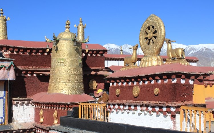 Roof of Jokhang Temple