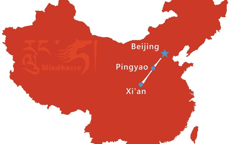 Pingyao Tour Route
