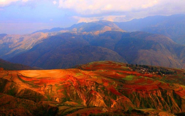 Luoxia valley Dongchuan