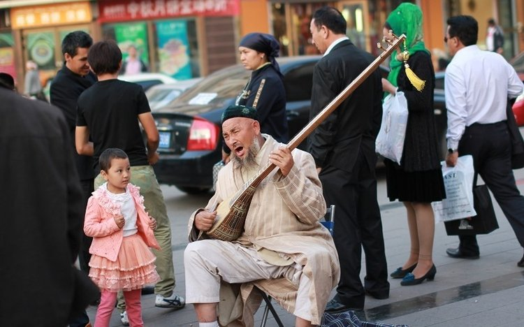 The Silk Road's Xinjiang Grand Bazaar
