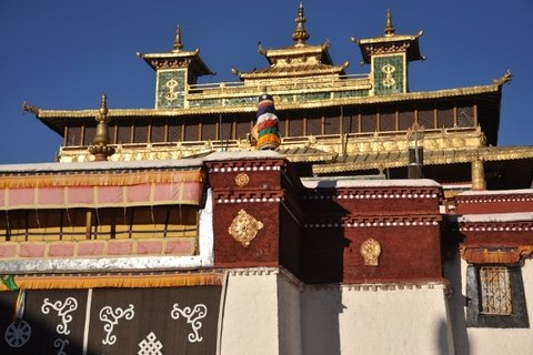 Samye Monastery Entry, Tibet, China