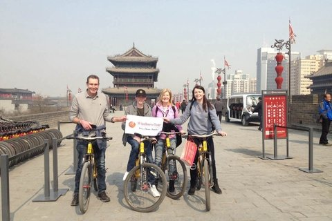 Xian city tour biking tour