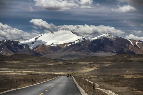 from durma to dahongliutan on the highway tibet-xinjiang