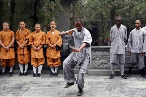 Shaolin temple Kongfu learning