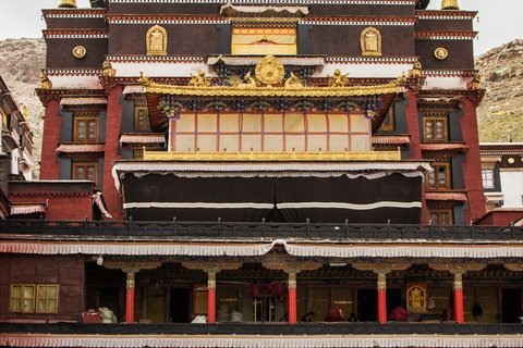 Tashilunpo monastery assembly hall