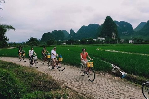 Yangshuo countryside bicycle ride