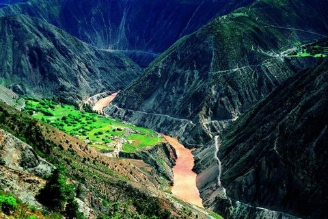 Lancang River Grand Canyon