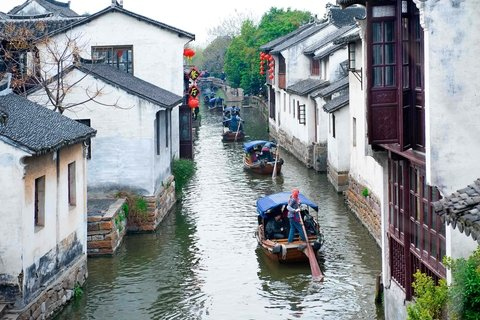 cruising on tongli watertown