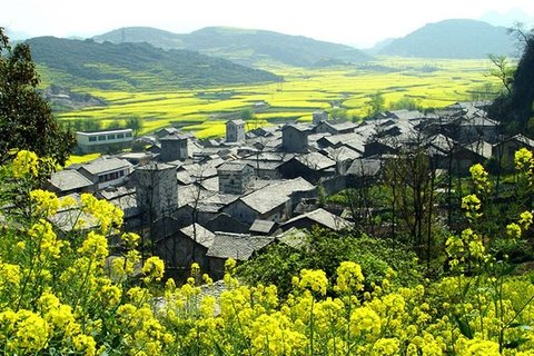 Yunfeng old Han village