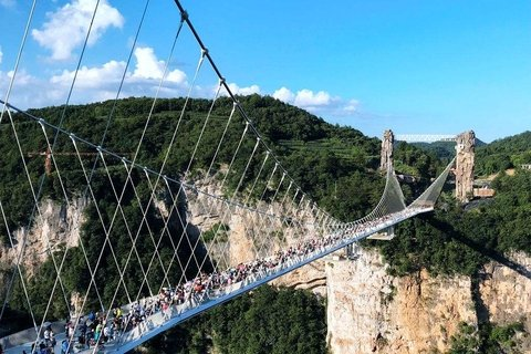 Grand Canyon Glass Bridge Zhangjiajie