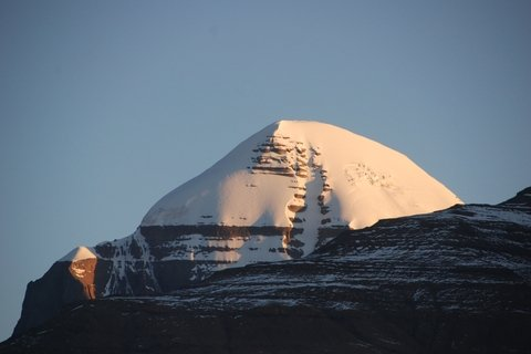 Sunset at Mount Kailash