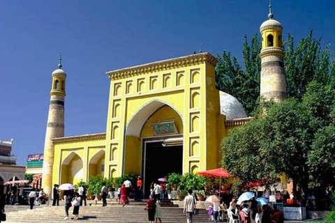 The Id Kah Mosque in Kashgar