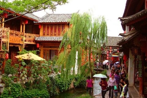 Lijiang Ancient City Sightseeing
