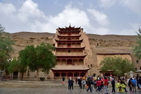 Mogao Caves on a Dunhuang and Zhangye Tour