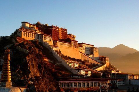 Potala Palace When Visit Lhasa Tibet