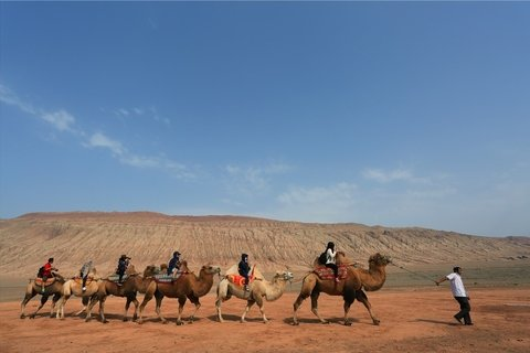 Travel the Flaming Mountains in Turpan