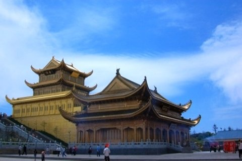 Huazang temple at Mt. Emei Golden Summit