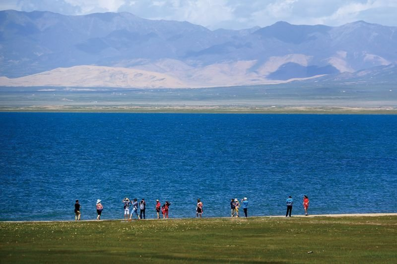 Beautiful Qinghai Lake