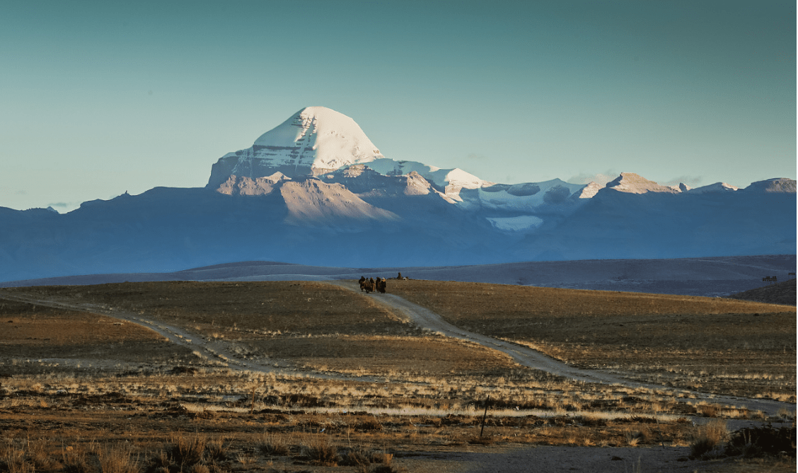 pilgrims to mount Kailash