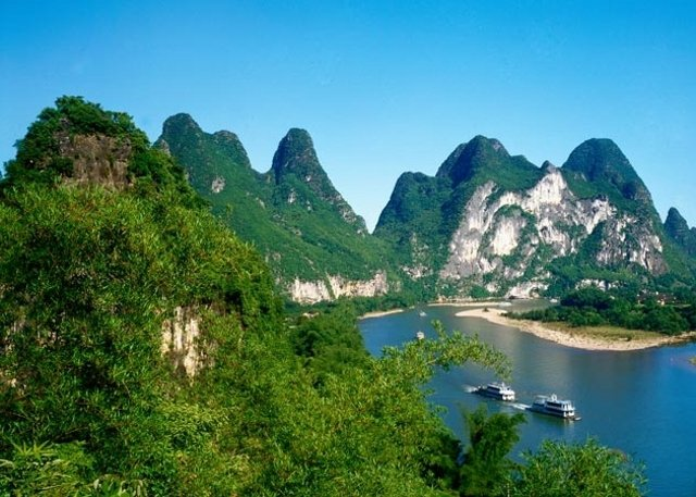 Li River Yellow Cloth Shoal