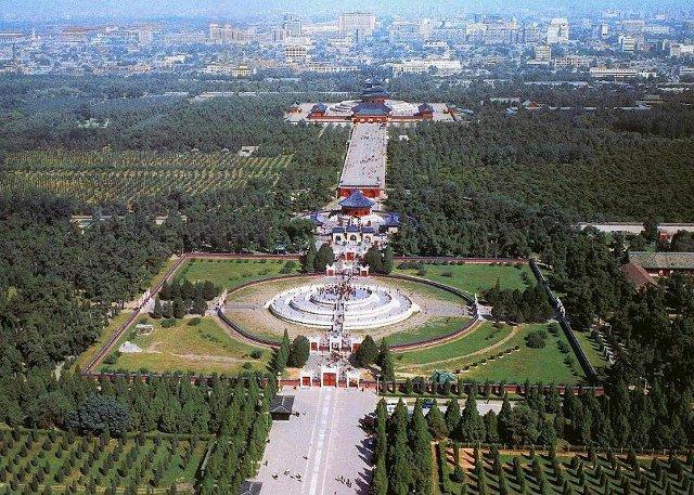 Temple of Heaven Bird View