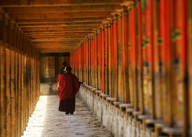 Xiahe Labrang Monastery Monk