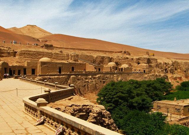 Visit Xinjiang Bezeklik Thousand Buddha Caves - Silk  Road Adventure Tour
