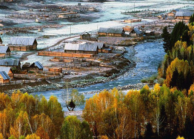 Xinjiang Hemu Village