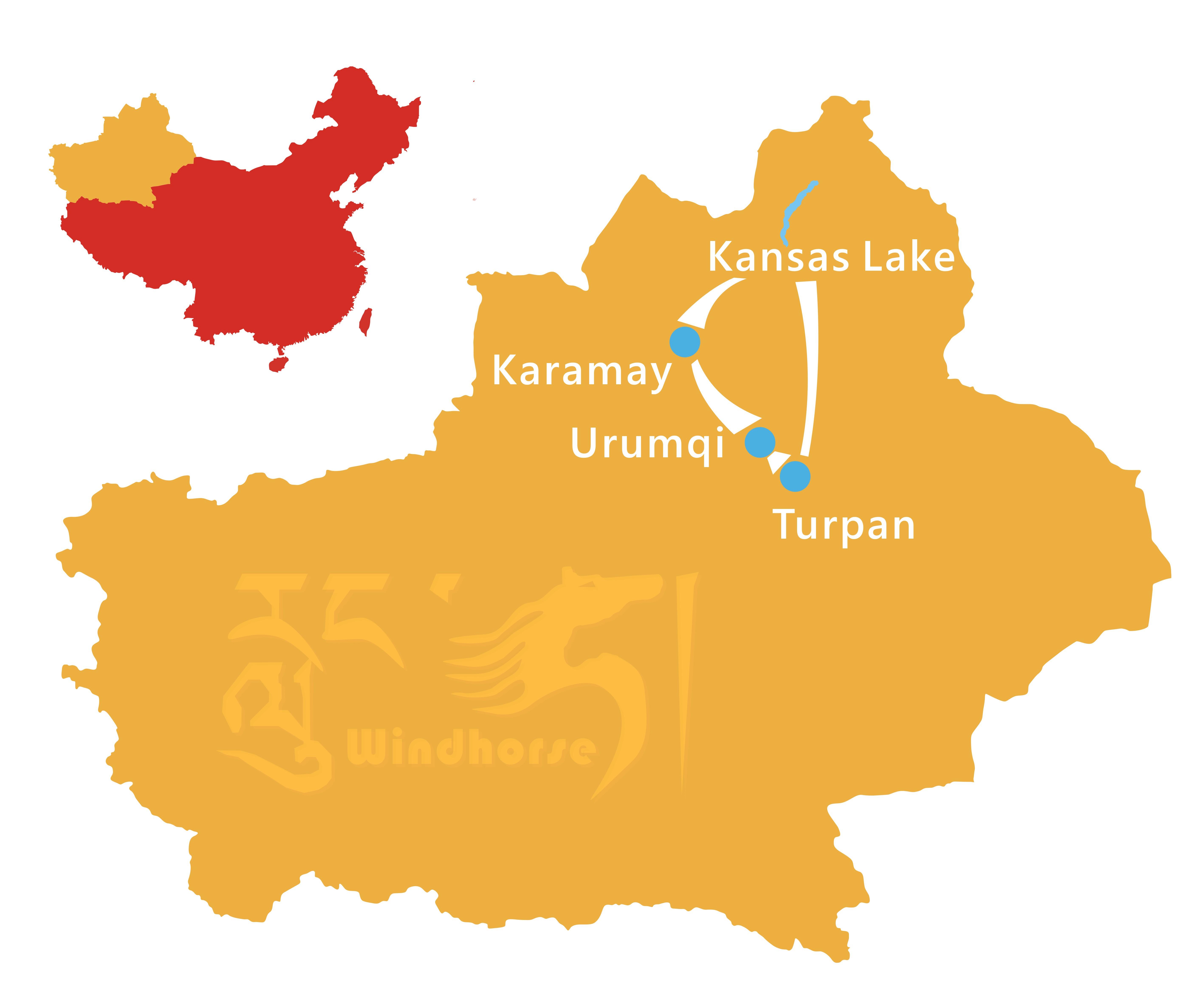 Xinjiang Photography Tour Route
