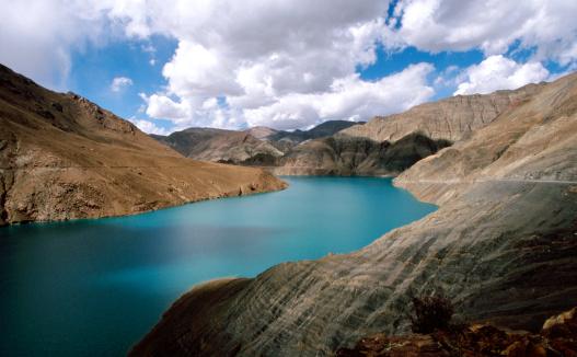 Jade Lake - Yamdrok Lake, Tibet